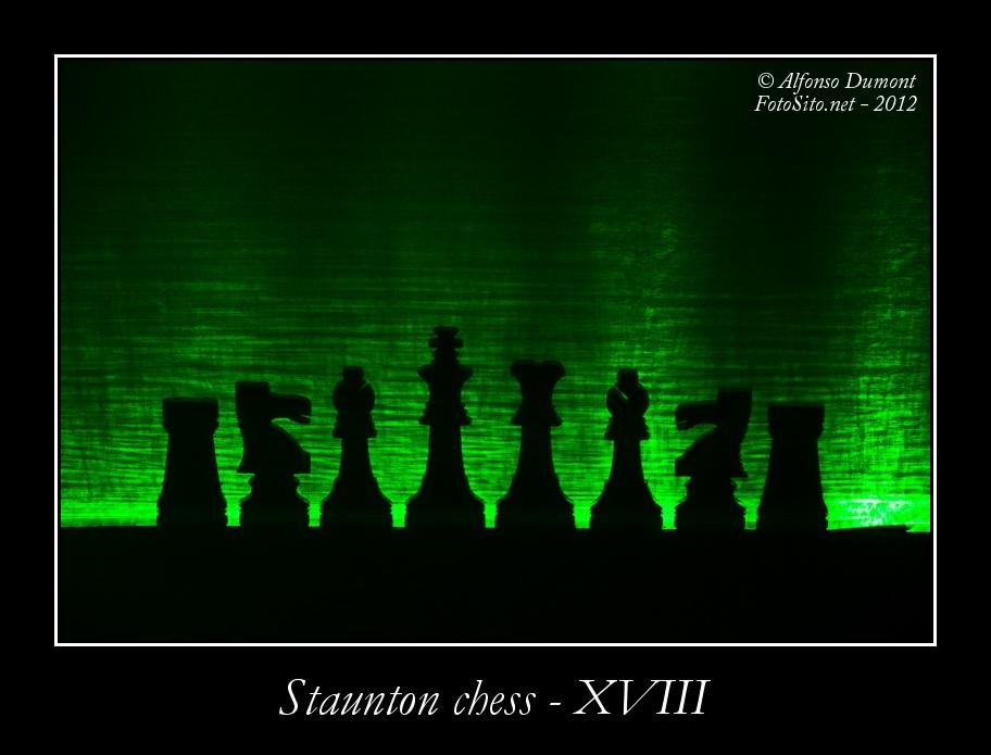 staunton chess xviii