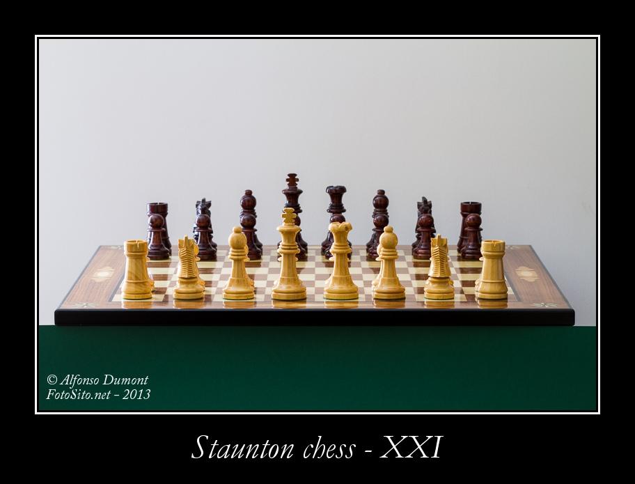 staunton chess xxi