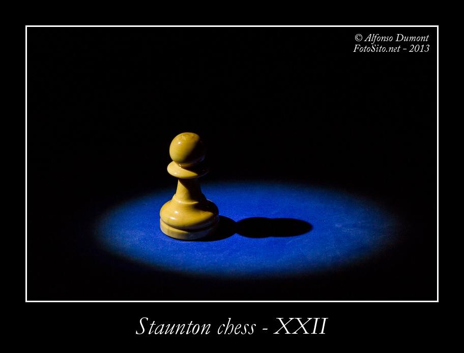staunton chess xxii