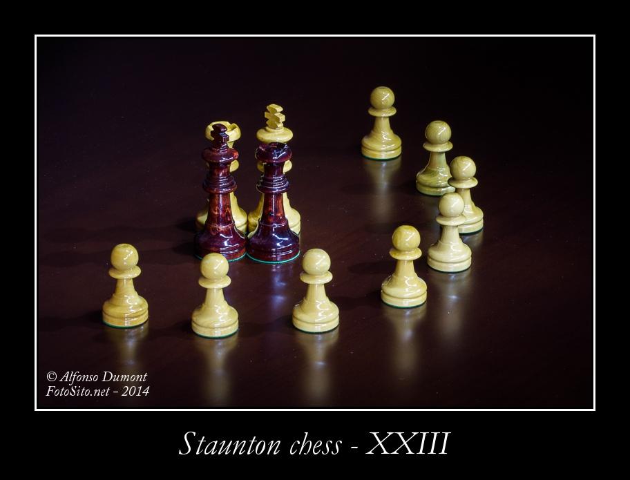 staunton chess xxiii