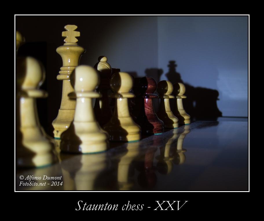 staunton chess xxv