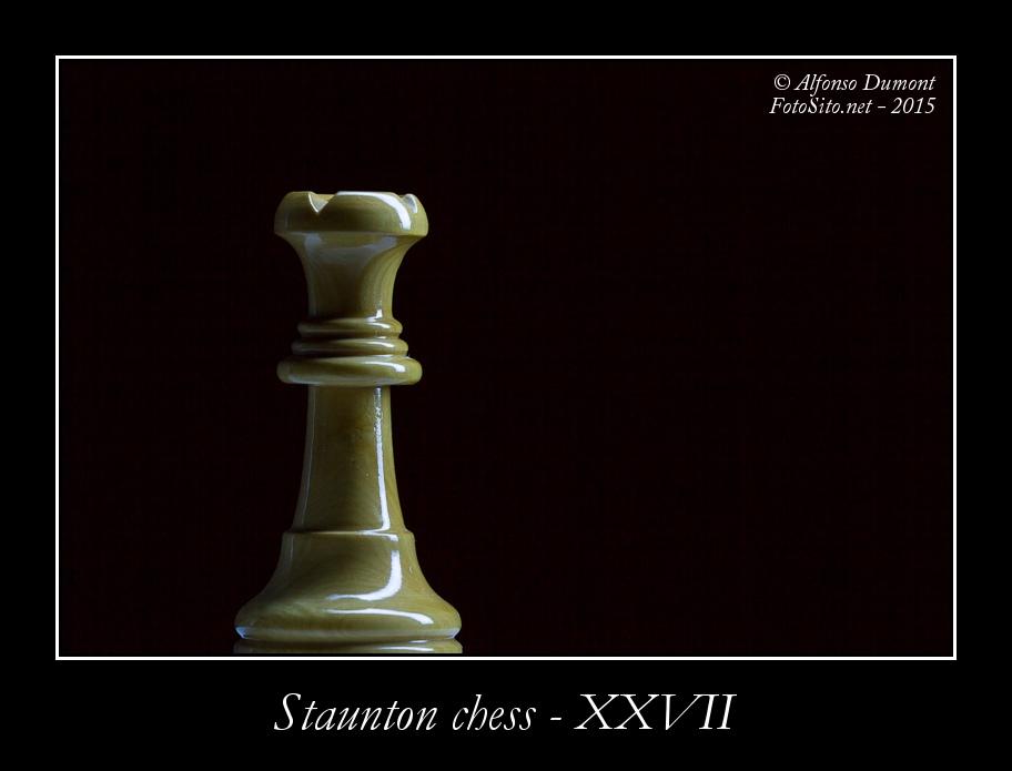 staunton chess xxvii