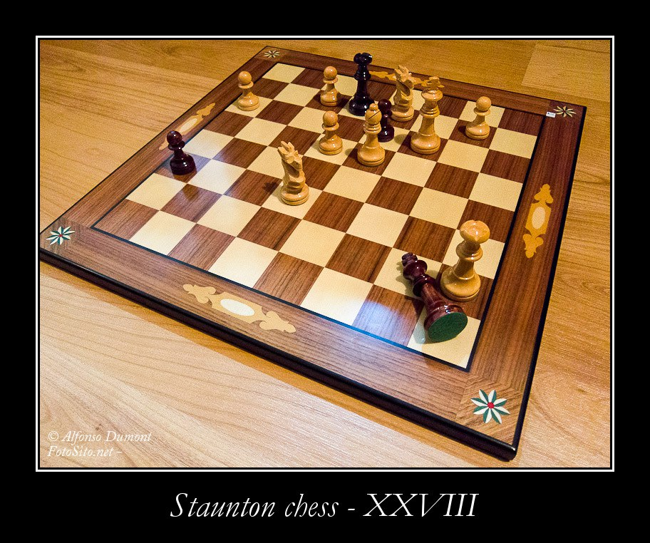 staunton chess xxviii