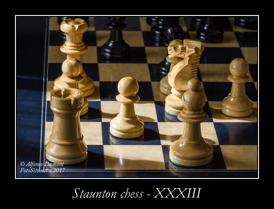 staunton chess xxxiii