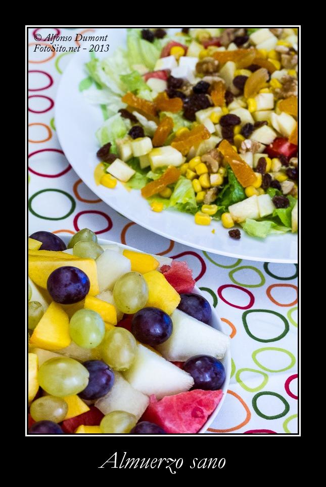 Almuerzo sano
