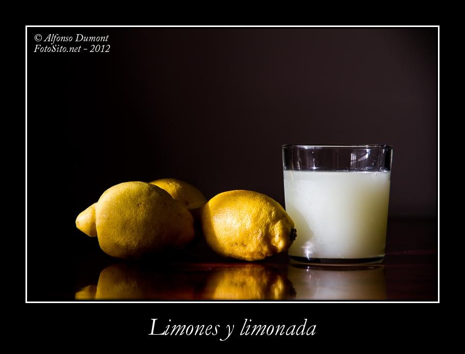 Limones y limonada