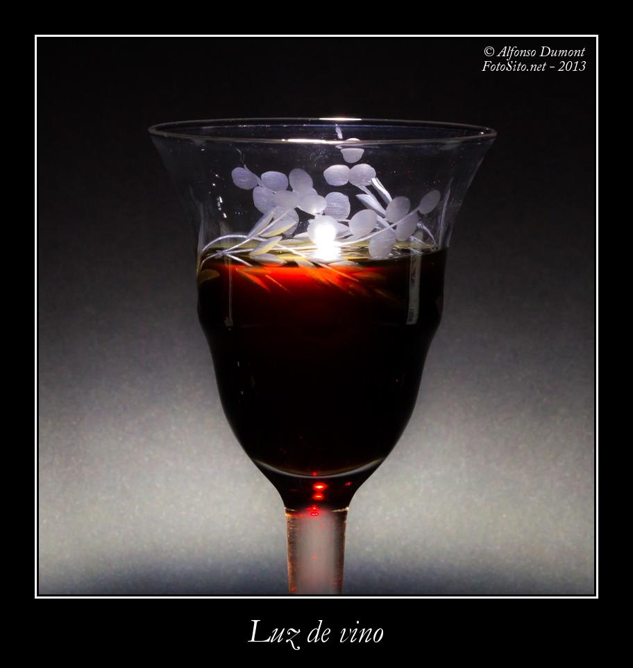Luz de vino