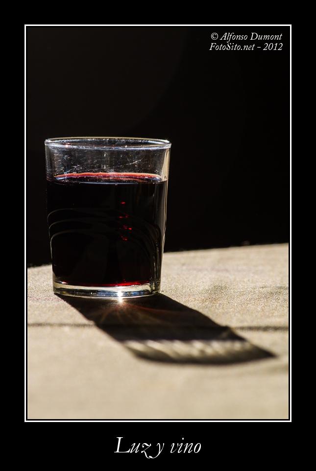 Luz y vino