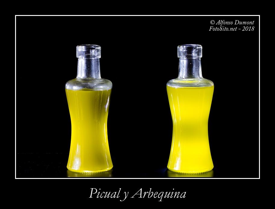 Picual y Arbequina
