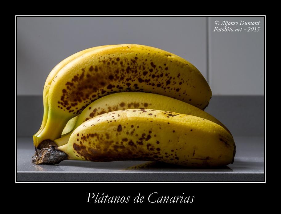 Platanos de Canarias