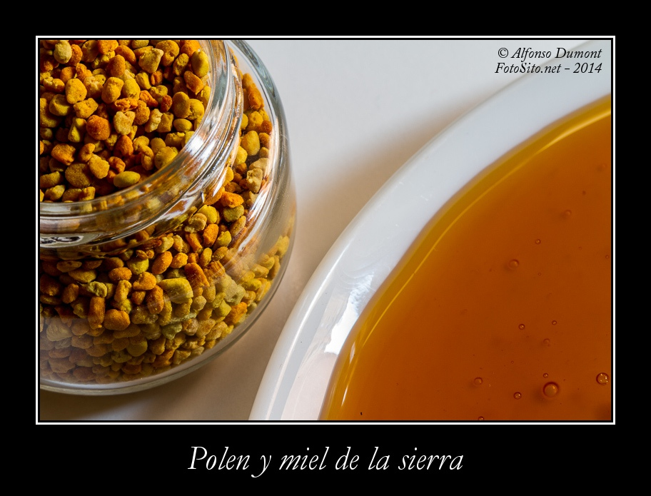 Polen y miel de la sierra