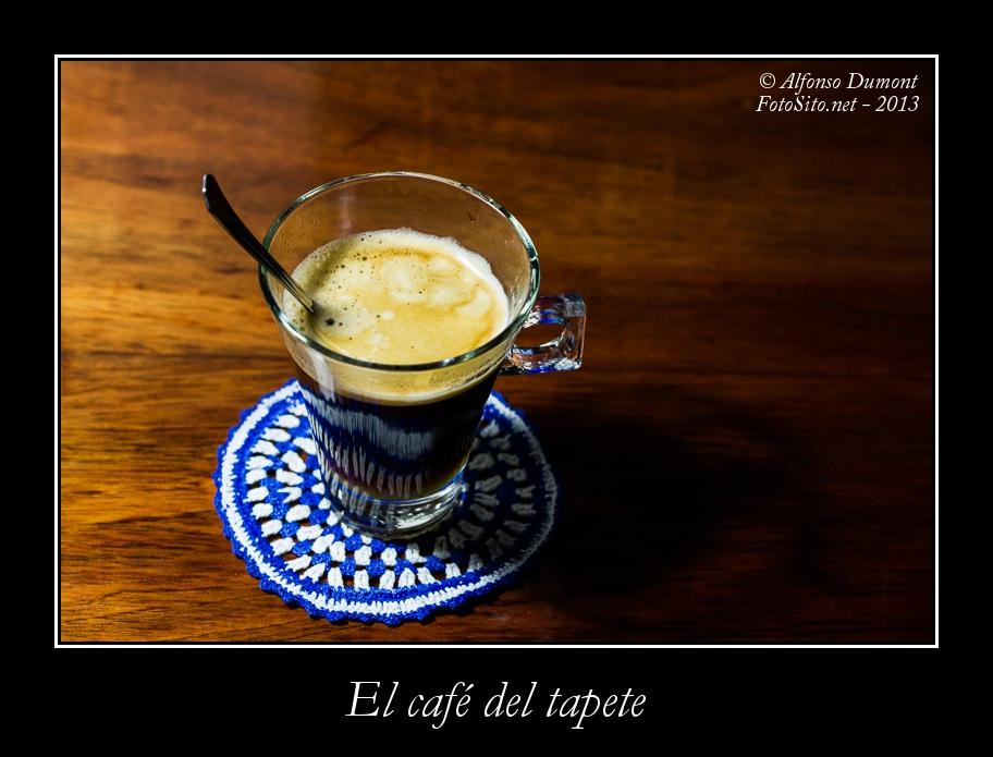 El cafe del tapete