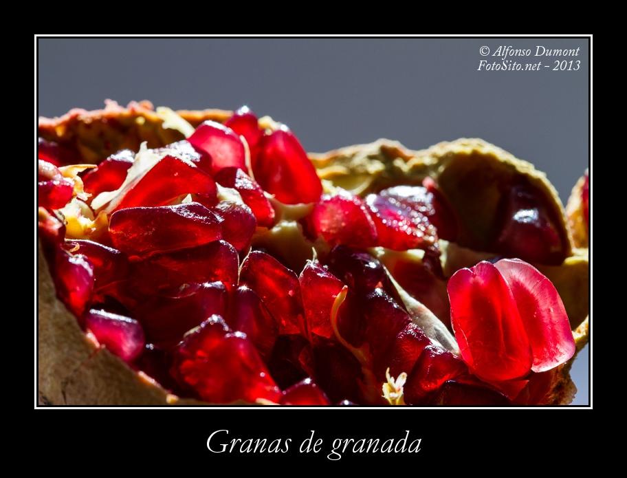 Granas de granada