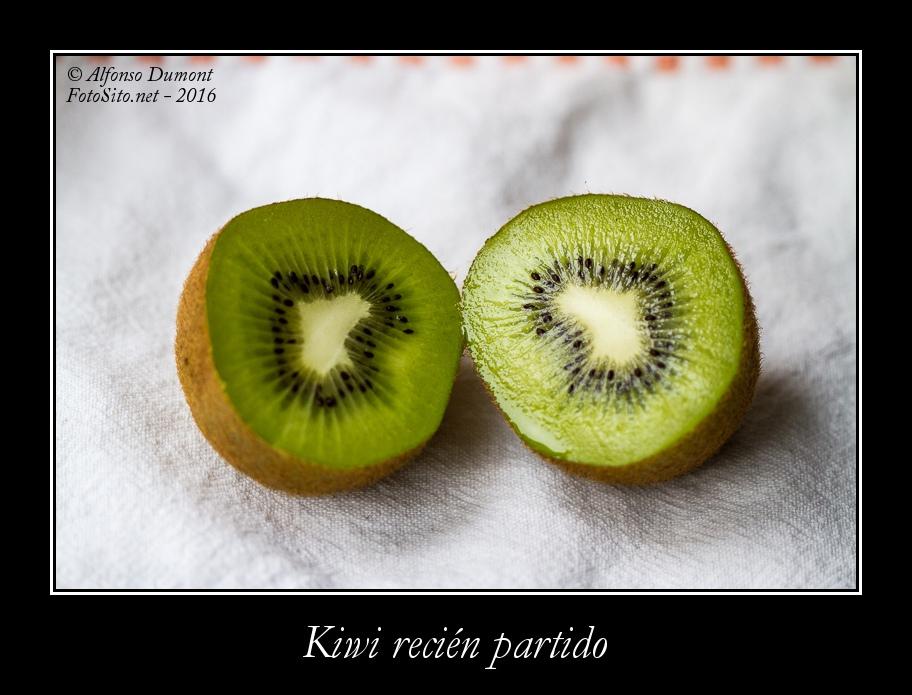 Kiwi recien partido