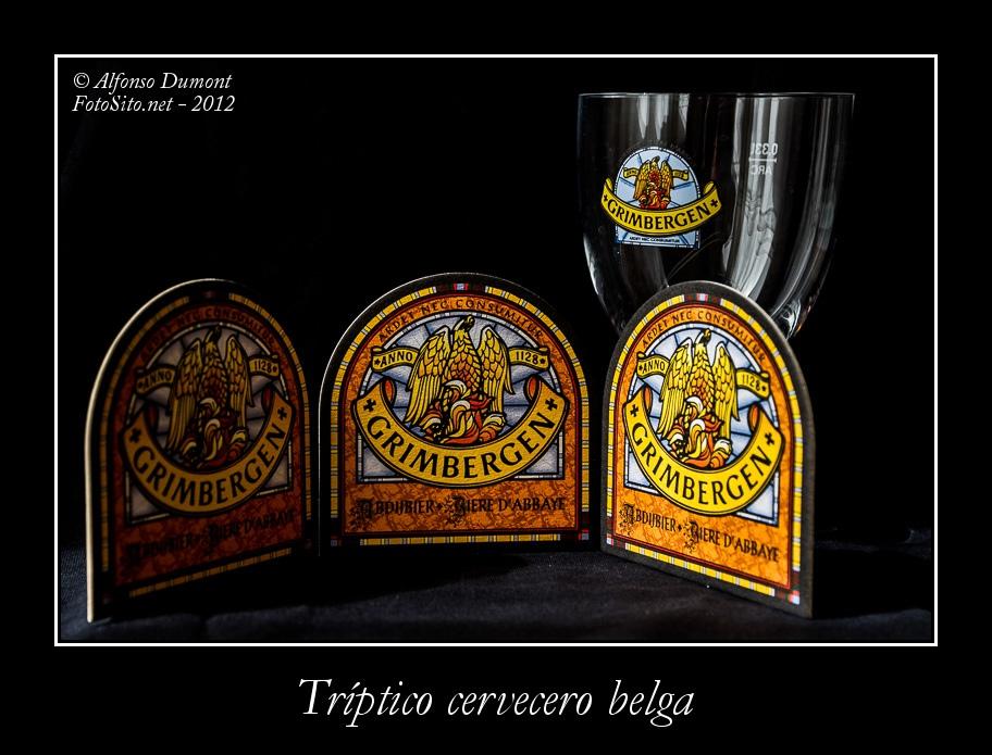 Triptico cervecero belga