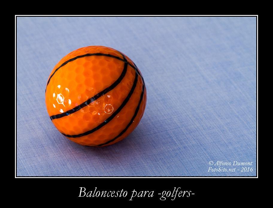 Baloncesto para -golfers-