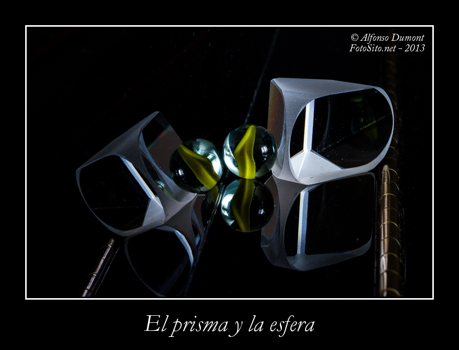 El prisma y la esfera