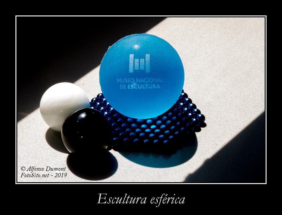 Escultura esferica