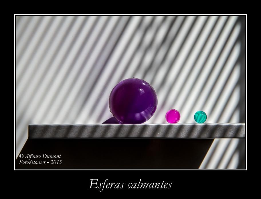 Esferas calmantes