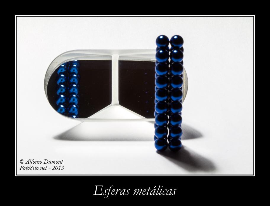 Esferas metalicas