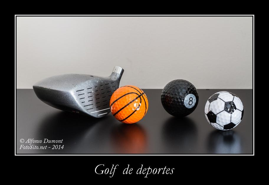 Golf de deportes