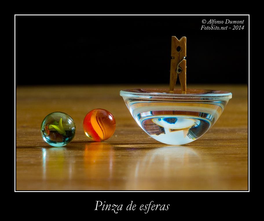 Pinza de esferas