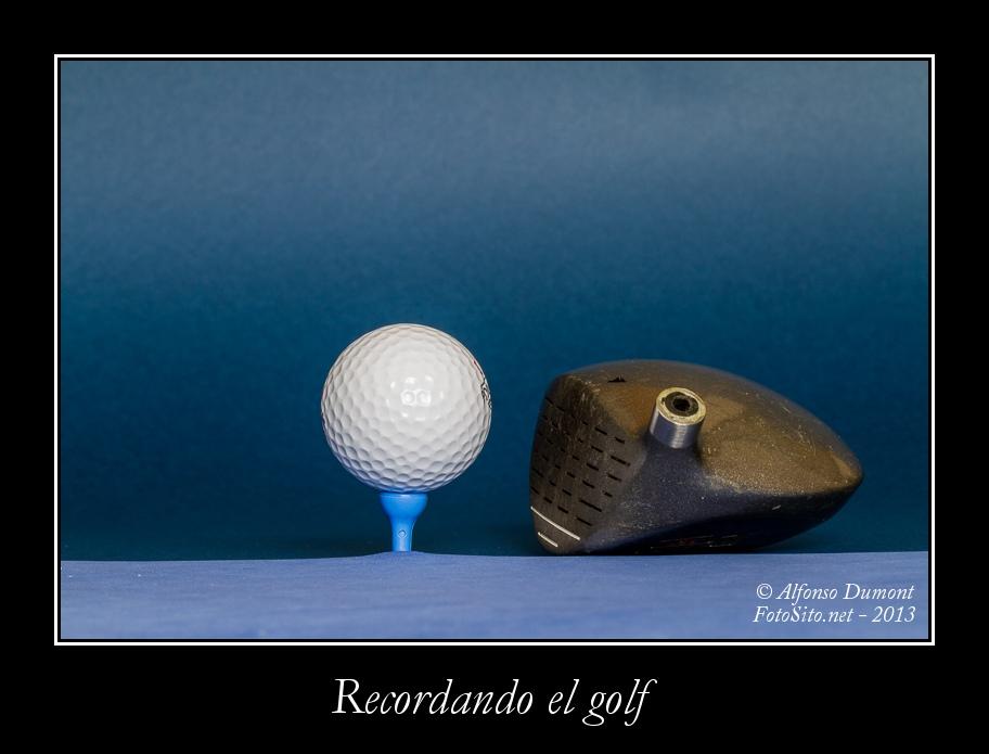 Recordando el golf