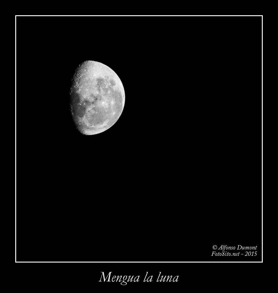 mengua la luna