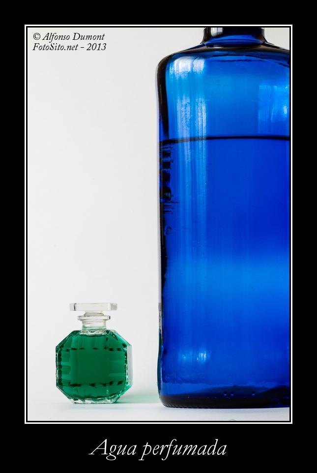 Agua perfumada