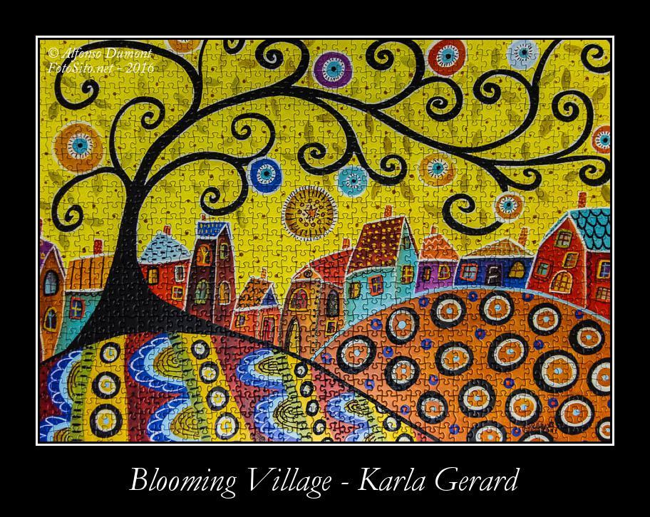 Blooming Village Karla Gerard