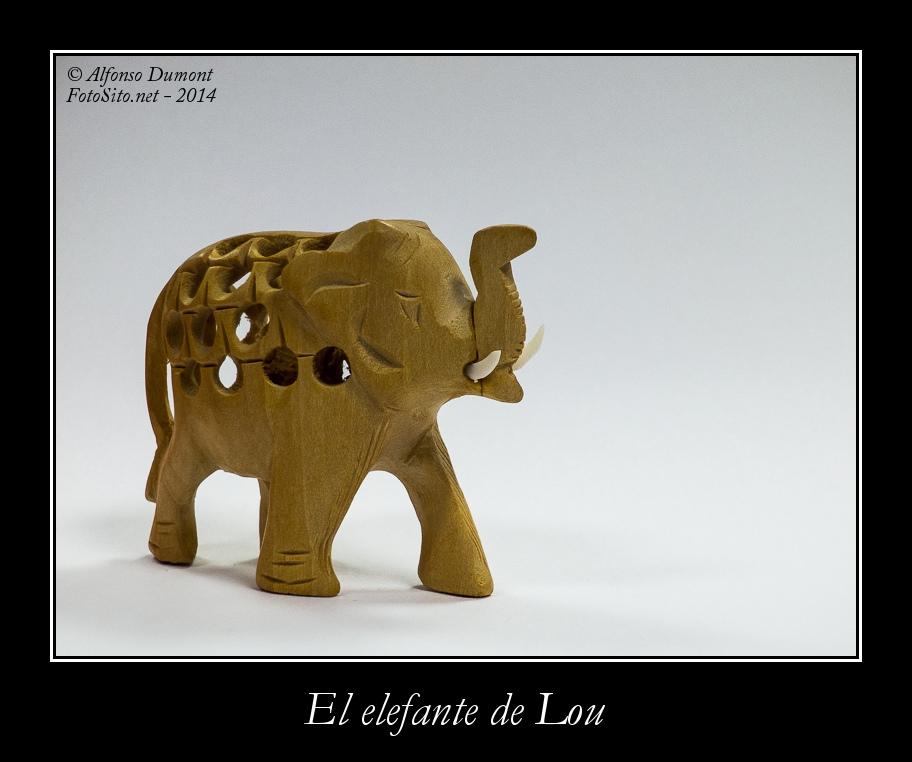 El elefante de Lou