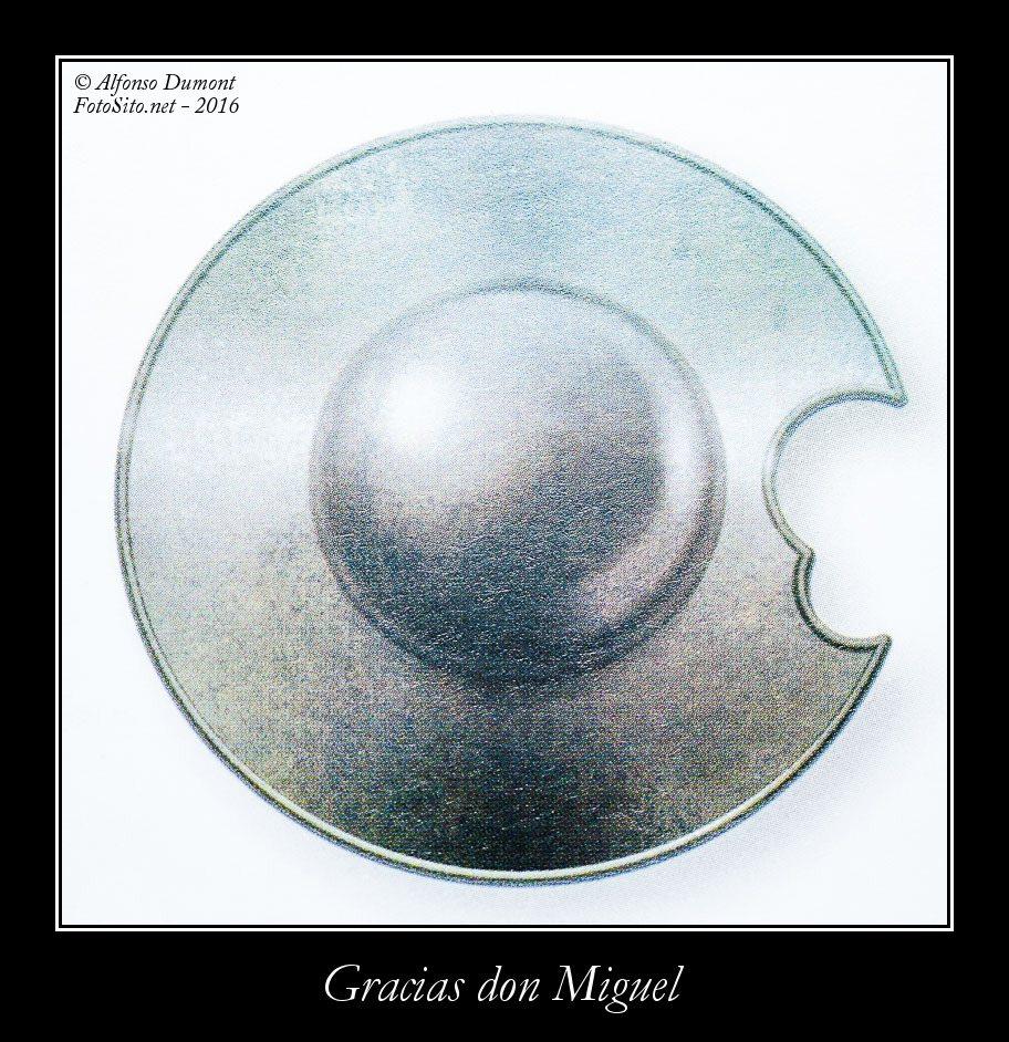 Gracias don Miguel