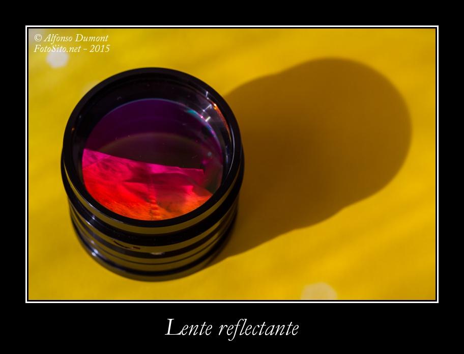 Lente reflectante